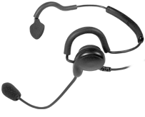 <b>&quot;PATRIOT&quot; SPM-1400 Series - Light Weight Headset: </b>Behind-the-head headset with noise-cancelling boom microphone and earphone. Can be upgraded to TACTICAL or QD version.