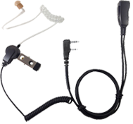 <b><span style='color: red;'>PRO-GRADE Series</span>  LMC-1AT Series Economically Priced, Acoustic Tube, Surveillance Kit with Clear tube earphone, rugged PTT and stainless steel hardware.</b>